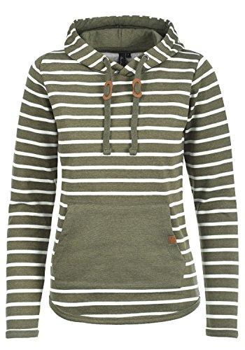 BlendShe Carina Damen Hoodie Kapuzenpullover Pullover Mit Kapuze, Größe:M, Farbe:Ivy Green (77026)