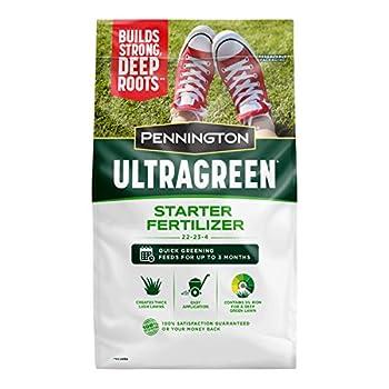Pennington UltraGreen Starter Lawn Fertilizer 14 LBS Covers 5000 sq ft