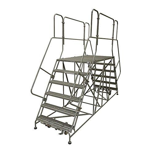 Cotterman - 7DWP3684RA3B4CC1P6 - Rolling Work Platform, Steel, Dual Access Platform Style, 70 Platform Height