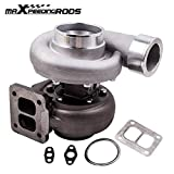 maXpeedingrods GT45 T4 Upgrade Turbo Charger V-Band 1.05 A/R 98mm 600+HPs Huge Boost, Racing External Wastegate Turbocharger for 3.0L-6.0L Engine