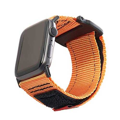 URBAN ARMOR GEAR UAG Compatible Apple Watch Band 44mm 42mm, Series 5/4/3/2/1, Active Orange