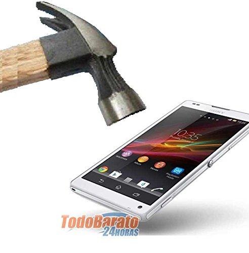 Todobarato24h Protector de Cristal Templado Compartible con Sony Xperia Z