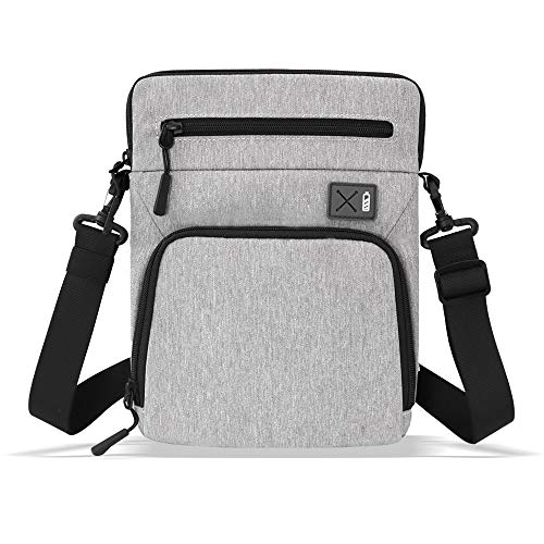SIMTOP 9.7-11 Inch Tablet Shoulder Messenger Bag Sleeve Case for iPad Pro with Magic Keyboard iPad air 4, Surface Pro