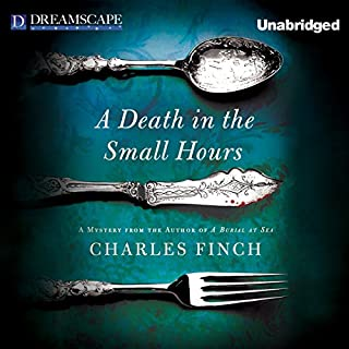 A Death in the Small Hours audiobook cover art