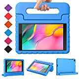 BMOUO for Samsung Galaxy Tab A 8.0 2019 Case SM-T290/T295, Galaxy Tab A 8.0 Case 2019, Shockproof Light Weight Protective Handle Stand Kids Case for Galaxy Tab A 8.0 inch 2019 Without S Pen - Blue