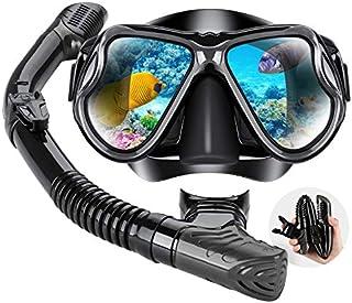 Dry Snorkel Mask Set Snorkeling Gear