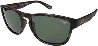 Sunglasses From Superdry For Unisex Brown Frame HAVANA-SDROCKSTAR-122 - size 54-17-140 mm - Green