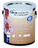 Dicor Corporation Rpselrct1 Signature Extended Life Rv Roof Coating , Brown