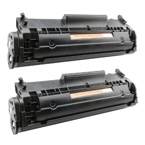 Tito-Express PlatinumSerie 2X Toner-Patrone XXL Schwarz für Canon FX-10 I-Sensys MF4010 PC-D440 PC-D450 Telekom Fax 900