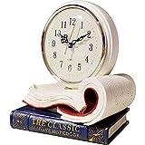 vigilanza creativa Vintage: disegno squisito libro ti porta il godimento più alto artistica. La tempistica esatta: L'orologio ha una funzione di scansione per garantire che il tempo più accurata viene sempre visualizzato senza fastidiosi ronzii sicur...