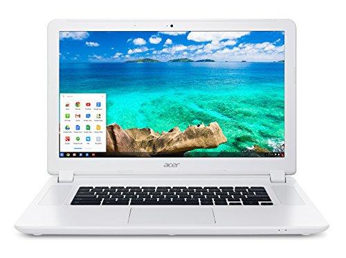 Acer Chromebook 15, 15.6-inch Full HD, Intel Celeron 3205U, 4GB DDR3L, 16GB SSD, Chrome, CB5-571-C4G4