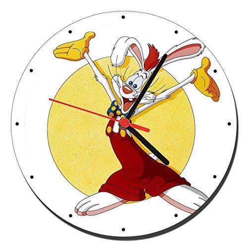 MasTazas Quien Engaño A Roger Rabbit Who Framed Roger Rabbit Reloj de Pared Wall Clock 20cm
