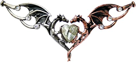 Enchanted Jewelry Dragon Heart Tiara Hengeband for Happy Relationshipsby Anne Stokes and Briar