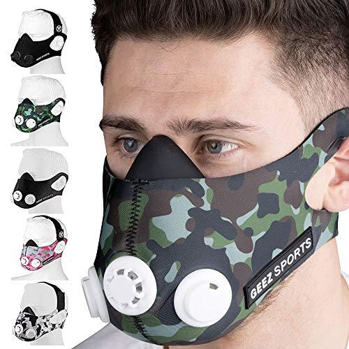 Geez - Máscara de Entrenamiento Profesional para Entrenamiento en...