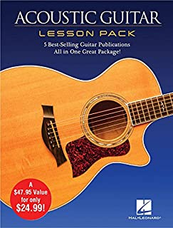 Acoustic Guitar Lesson Pack: 5 Best-Selling Guitar Publications in One Great Package!