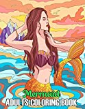 Mermaid Adults Coloring Book: 50 Beautiful Mermaids, Underwater World and its Inhabitants, Detailed Designs for Relaxation