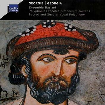 Géorgie: Polyphonies vocales profanes et sacrées (Georgia: Sacred and Secular Vocal Polyphony)