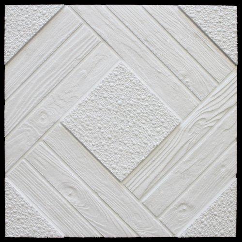 20 qm | Deckenplatten | EPS | formfest | Marbet | 50x50cm | Duet