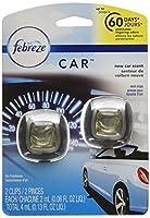 Febreze Car Vent Clips New Car Air Freshener, 2 Count by Febreze