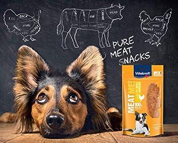 Vitakraft Meat Me! Poulet Friandise Snack à la Viande Qualité Premium pour Chien 60 g