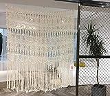 Macrame Curtain Macrame Wall Hanging Macramé Handwoven Boho...
