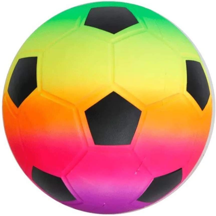 20cmColor Chaotai Rainbow Beach Ball Inflatable PVC Volleyball Swimming Pool Water Play Game Toy
