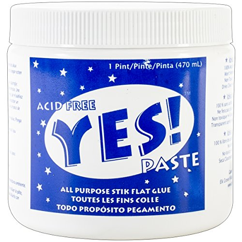 GANE ADH0901 Yes All-Purpose Stik Flat Glue, 1-Pint