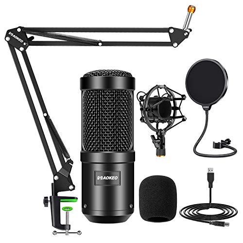Aokeo AK-60 Professional Studio Live Stream Broadcasting Recording...