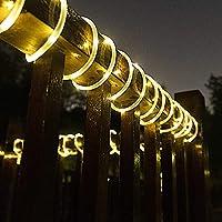 2-Pack Gigalumi Solar Powered Waterproof String Lights