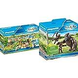 PLAYMOBIL Family Fun 70341 Gran Zoo, A Partir De 4 Años+Gorila con Bebés