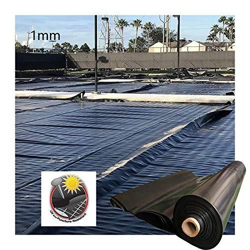 GDMING Forro para Estanque, 1mm Espesar Pieles De Estanque Resistente A Perforaciones Proteccion Solar Panel De PVC, por Reforzado Paisajismo Estanques De Koi/Peces, Personalizable