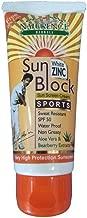 Naturence Herbals Sun Block Sports Cream White Zinc SPF50