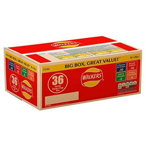 Walkers 36er Variety Box 36 x 25g