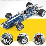 Ingenious Toys Modelo Creator - Azul Sonic Auto de Carreras / 1758pcs Set Construcción #X3022