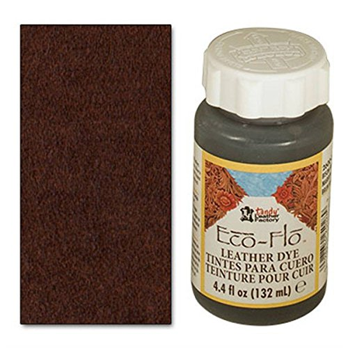 Tandy Leather Eco-Flo Leather Dye 4.4 fl. oz. (132 ml) Bison Brown 2600-03