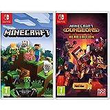 Minecraft - Nintendo Switch + Minecraft Dungeons Hero Edition