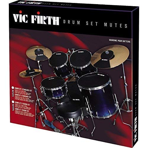 Vic Firth PVF MUTESTD Sourdine pour batterie Pack...