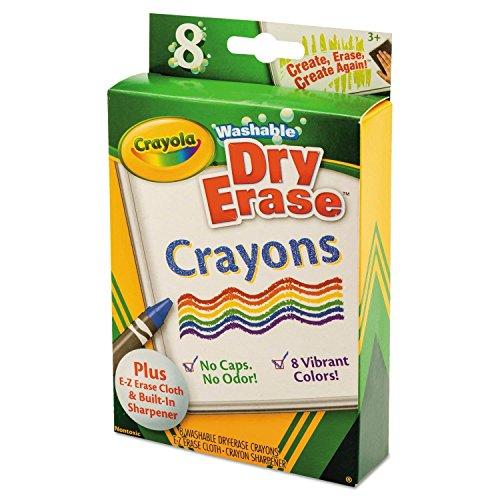 Crayola Dry-Erase Crayons, 16 Count