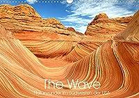The Wave: Naturwunder im Suedwesten der USA (Wandkalender 2022 DIN A3 quer): Atemberaubende Sandstein Formationen (Monatskalender, 14 Seiten )