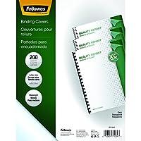 Fellowes - 215.9 x 297.4 mm - clear - 200 pcs. PVC binding cover