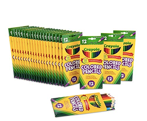 top rated Crayola bulk mechanical pencils for school supplies, 12 colors, 24 pieces.pack 2020