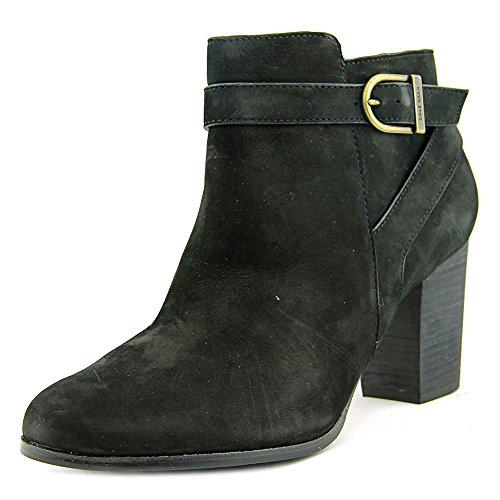 Cole Haan Womens Cassidy Strap Bootie Ankle Boot Shoes, Black Nubuck, US 9