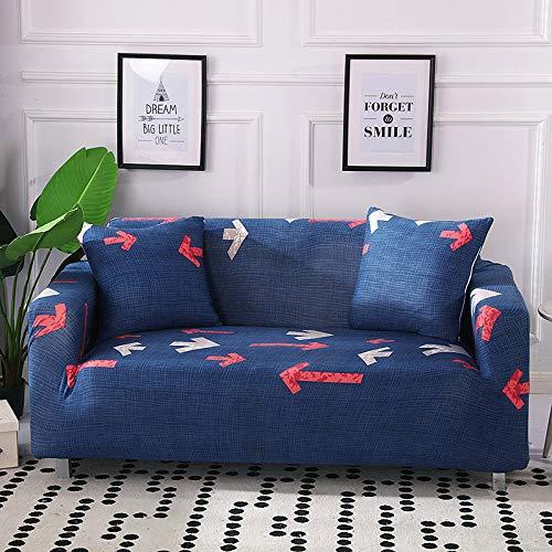 NOBCE Funda de sofá en Forma de L para Sala de Estar, Muebles elásticos, Funda para sofá, Funda para sofá, Funda elástica 90-140CM