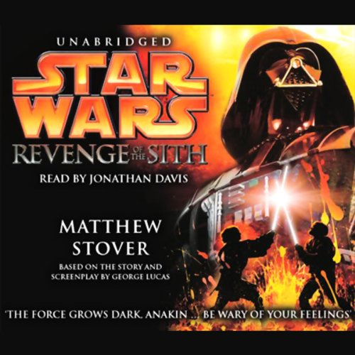 Star Wars Episode III audiobook cover art