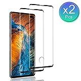 SNUNGPHIR Protector de Pantalla para Samsung Galaxy S10 Plus, [2 Piezas] Cristal Templado para Galaxy S10 Plus, [3D Cobertura Completa] [9H Dureza] [Sin Burbujas] Vidrio Templado para Galaxy S10 Plus