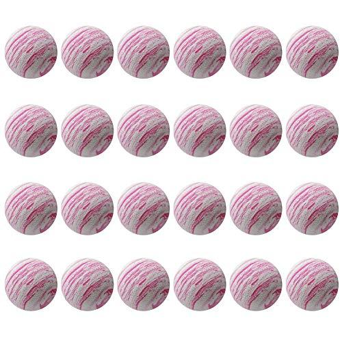 Chytaii. 24 Piezas 42mm Práctica Pelotas de Golf EVA Foam Ball Golf práctica de Entrenamiento Soft Golf Ball Indoor Práctica Esponja Espuma Bolas para Principiantes