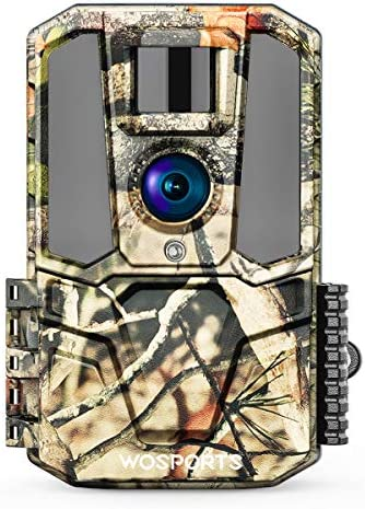 WiFi Trail Camera 30MP 1440P HD 2 0 Color LCD Hunting Game Camera with IR Night Vision Motion product image