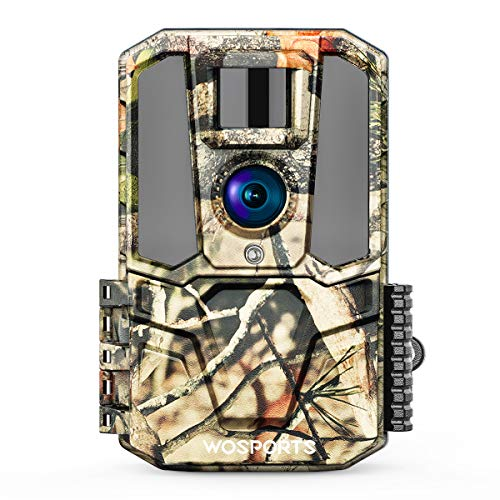 [2020 Upgrade] Trail Camera-WiFi 30MP 1440P HD 2.0' Color LCD, Hunting Game Camera with IR Night Vision Motion Activated for Outdoor Wildlife Monitoring Home Security Waterproof IP65