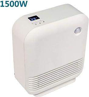 GYF Calefactor eléctrico 1500W Calefactor Eléctrico Bajo Consumo Blanco Mini Baño Impermeable Calentador El Ahorro De Energía Calefacción De Cerámica