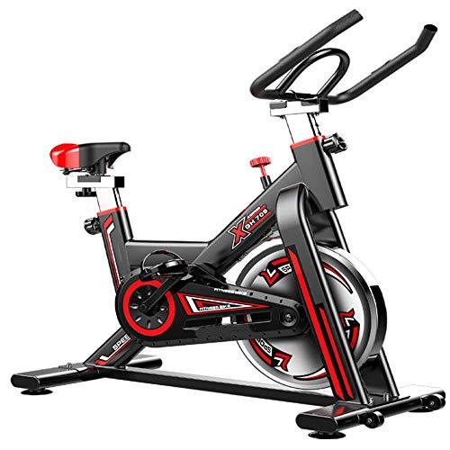 Tbaobei-Baby Indoor-Heimtrainer Sport Bike Startseite Heimtrainer Heim Aerobic Fitness Indoor Feste Bike geeignet for Indoor-Sportstudio im Haus (Color : Black, Size : 920-1020x500x1050mm)